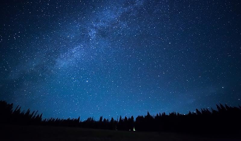 Во время ночи